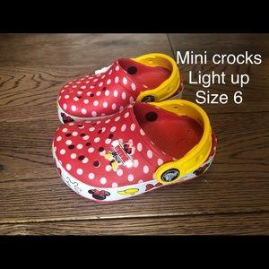 Other - Mini Mouse crocs